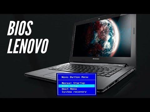 Acceder BIOS Portátil Lenovo [Novo Button]