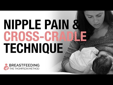 Breastfeeding for Midwives: Nipple Pain and The Cross Cradle Technique