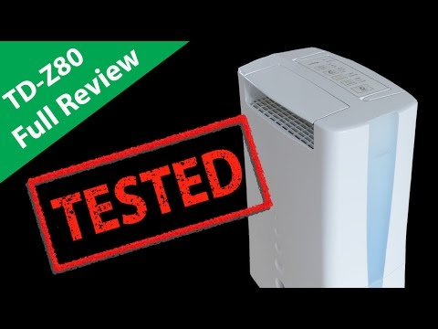 Toyotomi TD Z80 Review Desiccant Dehumidifier & Features