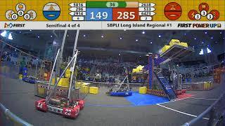 Semifinal 4 - 2018 SBPLI Long Island Regional #1