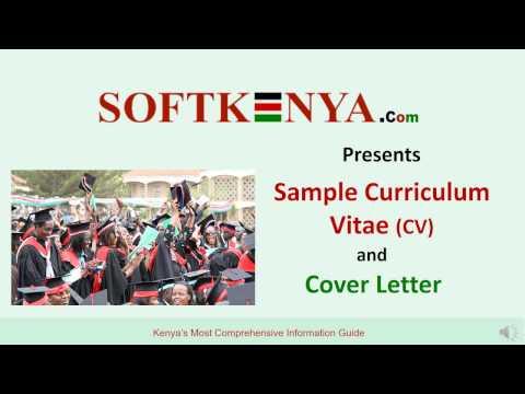 Sample CV and Sample CV Cover Letter