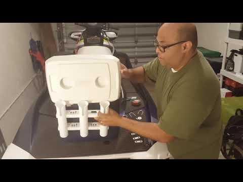 Waverunner-jetski fishing cooler.