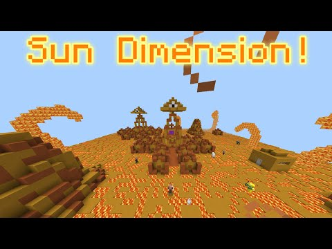 THE SUN DIMENSION! | Minecraft 1.2 Map