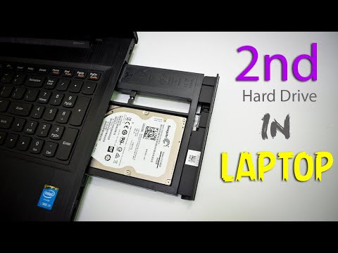 How to Install 2 Hard Drive in 1 Laptop | Dual Drive Setup Tutorial (SSD + HDD )