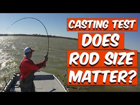 Casting Test: Does Rod Size Matter? 7''6
