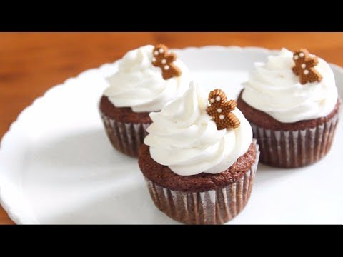 Gingerbread Cupcakes | SweetTreats