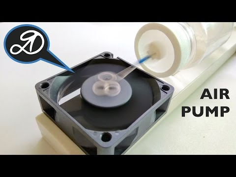 Air Compressor from Cooler DIY. How to make a membrane air pump