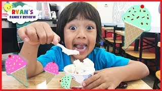 Kid learn how to Read Family Fun Ice Cream Celebration + Back to School Classroom Tour