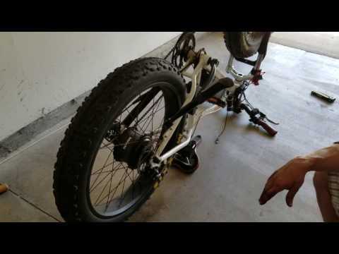 Removing the Rear Tire on the RadRover 2016 eBike!