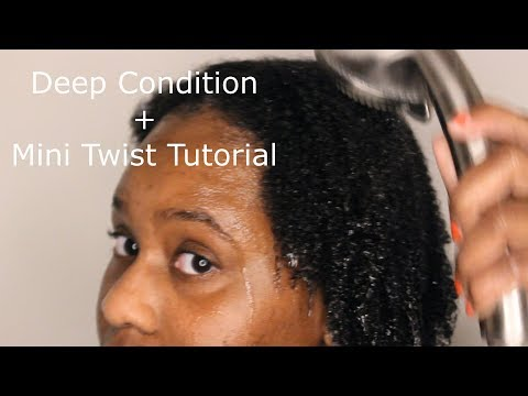 DEEP CONDITIONING | 4C Natural Hair