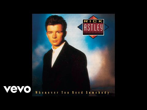 Rick Astley - Don't Say Goodbye (Audio)