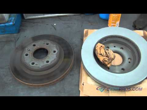 Front Brake Pads & Rotor Replacement GMC Sierra 2007-2013