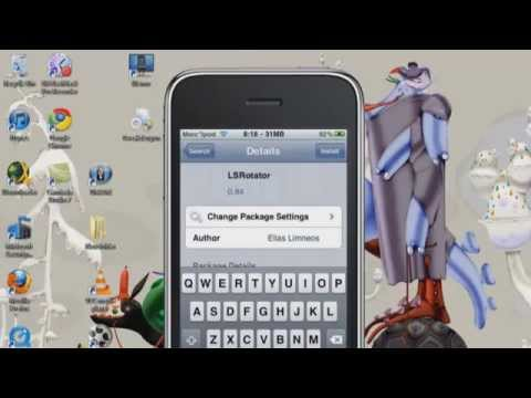 [HOW TO]get LSrotator 0.94 cracked rotate your lockscreen Ipod/Iphone IOS 4