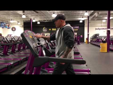 Planet Fitness Treadmill - How to use the treadmill at Planet Fitness