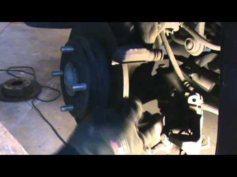 Honda brake disc and pads replacement (Rear) in 10 min