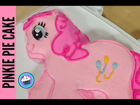 How to make Pinkie Pie Cake - Pinch of Luck