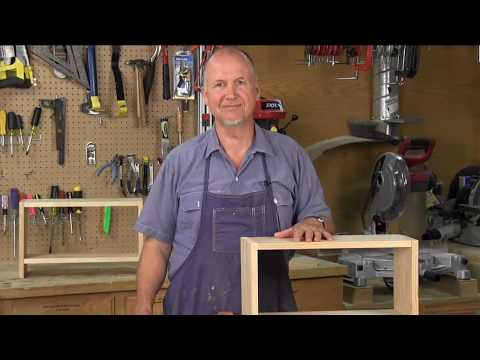 How to Glue Biscuit Joints