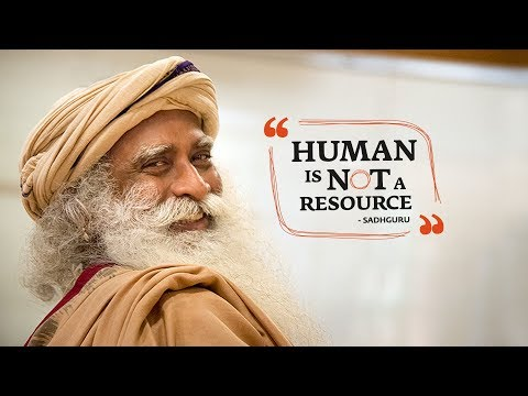 Human is Not a Resource - HR Conclave   Isha Leadership Academy