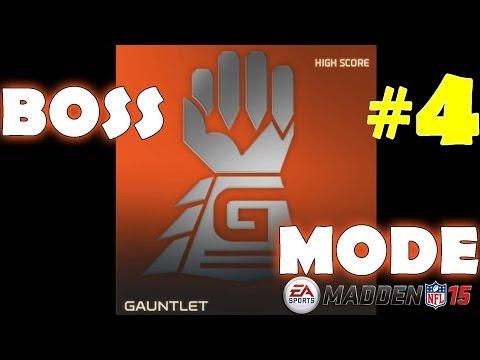 Gauntlet Boss #4 in Madden NFL 15