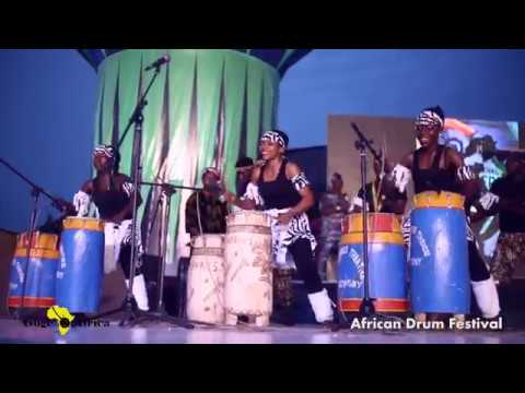 Black Born Theatre Group performance at African Drum Festival