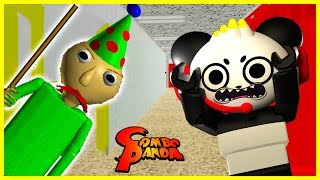 BALDI'S SCARY BIRTHDAY PARTY ! Baldi's Basics 1 Year BIRTHDAY BASH ! Let's Play Baldi