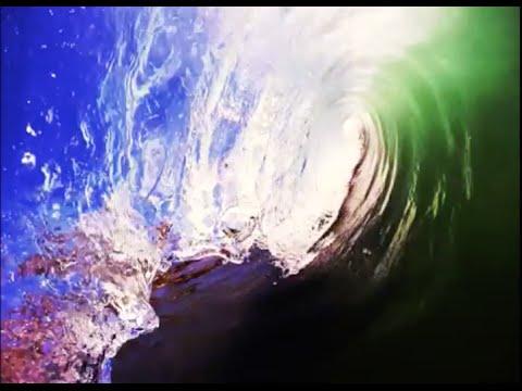 Crystal clear Shore break barrels