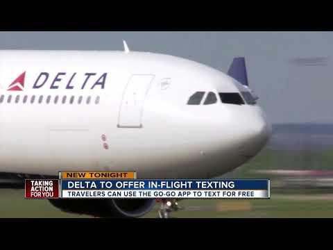 Delta to offer free in-flight messaging on flights