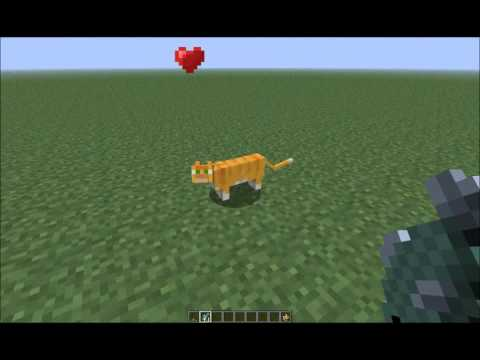 Minecraft - How to Tame and Breed an Ocelot in 12w04a (1.2+)