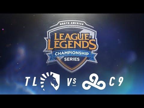 TL vs. C9 - Week 9 Day 1 | NA LCS Spring Split | Team Liquid vs. Cloud9 (2018)