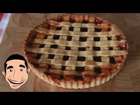 Strawberry Tart Recipe | Crostata di Fragole (Collaboration with Buona Pappa Channel)
