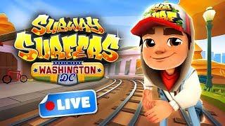🎮 Subway Surfers World Tour 2017 - Washington D.C. Gameplay Livestream