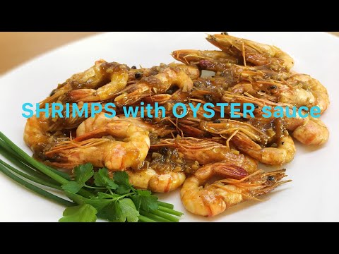 SHRIMPS with OYSTER SAUCE Recipe
