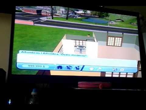 Sims 3 wii | creamos la casa  1/2
