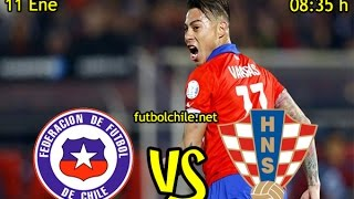 Chile* 1 vs Croacia 1 – Penales: 4-1 - China Cup - Partido Completo - futbolchile.net