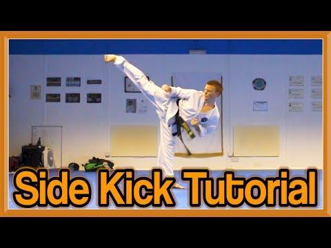 Taekwondo Side Kick Tutorial | GNT How to