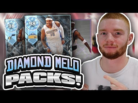 PLAYOFF THROWBACK MOMENTS PACK OPENING! DIAMOND CARMELO ANTHONY!! (NBA 2K18 MYTEAM)