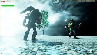 Unreal Engine 4 [4.11] Zelda Ocarina of Time / Link vs DarkLink [Work in Progress]