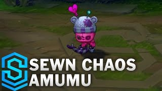 Sewn Chaos Amumu Skin Spotlight - League of Legends