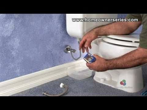 How to Fix a Toilet - Water Supply Valve Replacement - Part 1 of 2