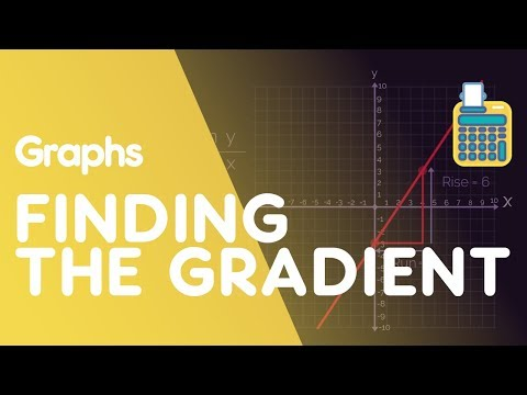 Finding the Gradient of a Straight Line | Graphs | Maths | FuseSchool
