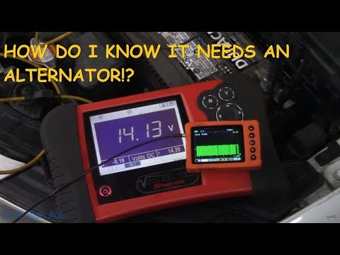 Vehicle Is Not Charging: How Do We KNOW It Is The Alternator?
