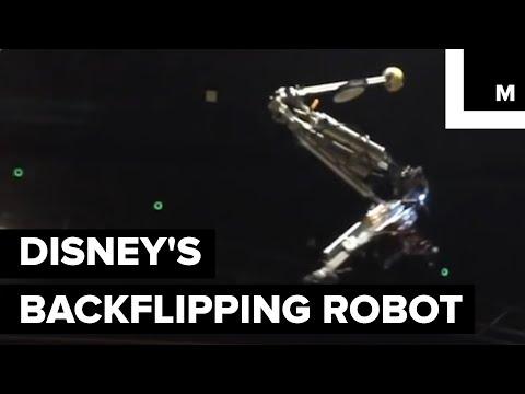 Disney Built a Back-Flipping Robot