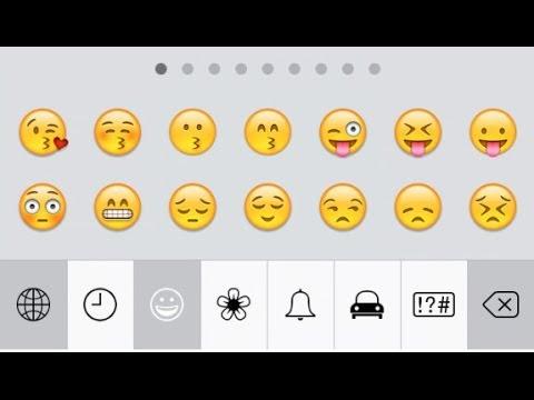 How to Enable Emoji Keyboard in iOS 7