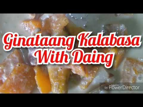 Maggie Magic Sarap para sa Ginataang Kalabasa With Daing