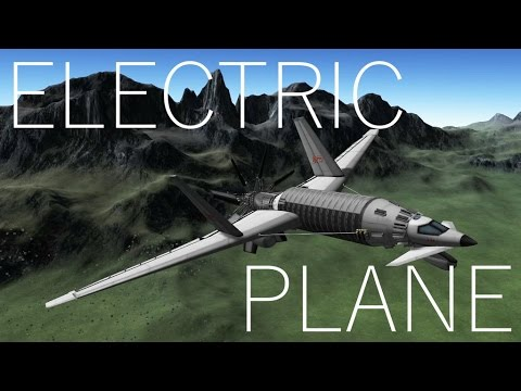 KSP: 100+ m/s in a Stock Electric Propeller Plane