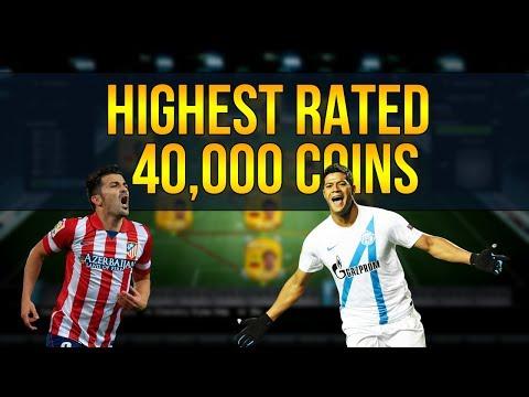 FIFA 14 Ultimate Team | 40,000 Coins Highest Rated Hybrid | Squad Builder Challenge #11