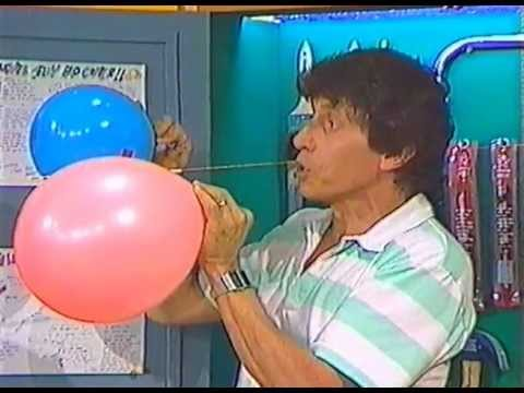 Balloon Rocket Two Stage