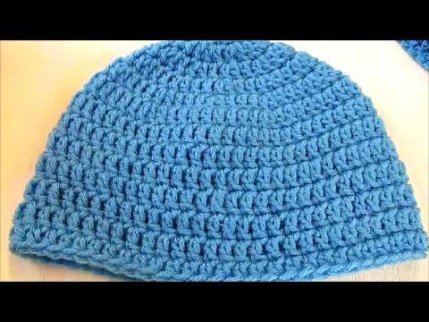 Basic Double Crochet Beanie