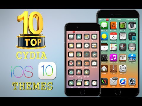 TOP 10 Brand New iOS 10 Cydia Themes for iPhone – Part 4