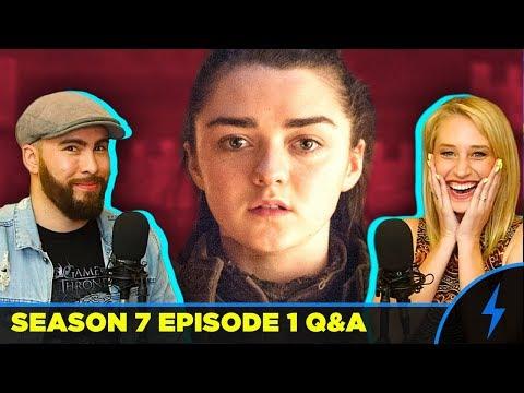 Game of Thrones Season 7 Episode 1 REVIEW & RECAP - Ed Sheeran/Arya Predictions! - PREMIERE REACTION